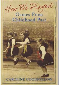 book cover showing photograph of three girls skipping
