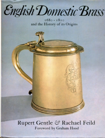 book cover showing brass tankard