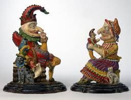 Punch and Judy figures