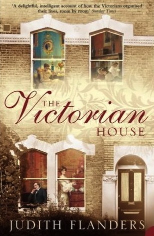 front cover of book showing exterior of Victorian terraced house