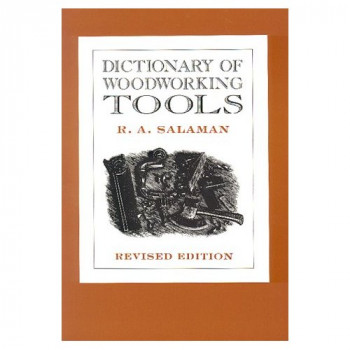 Cover of A Dictionary of Woodworking Tools